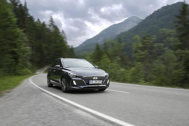 Neues Gesicht, neues Innenleben – der neue Hyundai i30 Kombi wartet mit elegantem Design und modernster Technik auf.