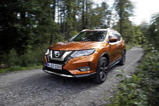 Nissan xtrail suv 2017 daten ausstattungen kosten